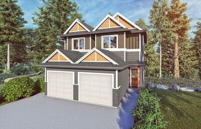 Brand New Duplex To Be Built in Sooke - 3 bed 4 bath, 1586 sq ft