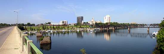 Augusta Georgia Skyline