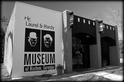 Laurel and Hardy Museum.