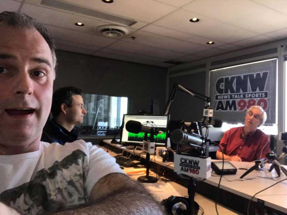 David Maitre on CKNW Show 1