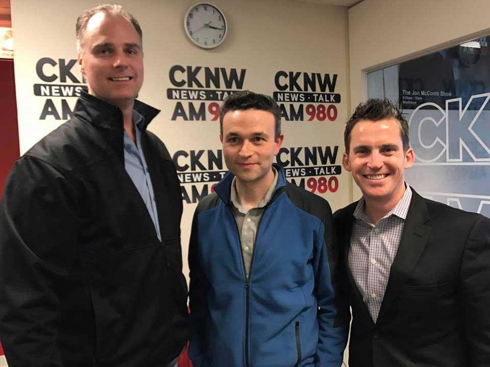David Maitre on CKNW Show 3