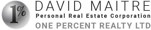 David Maitre One Percent Realty Logo