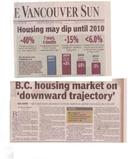 Vancouver Sun Oct 24 2008
