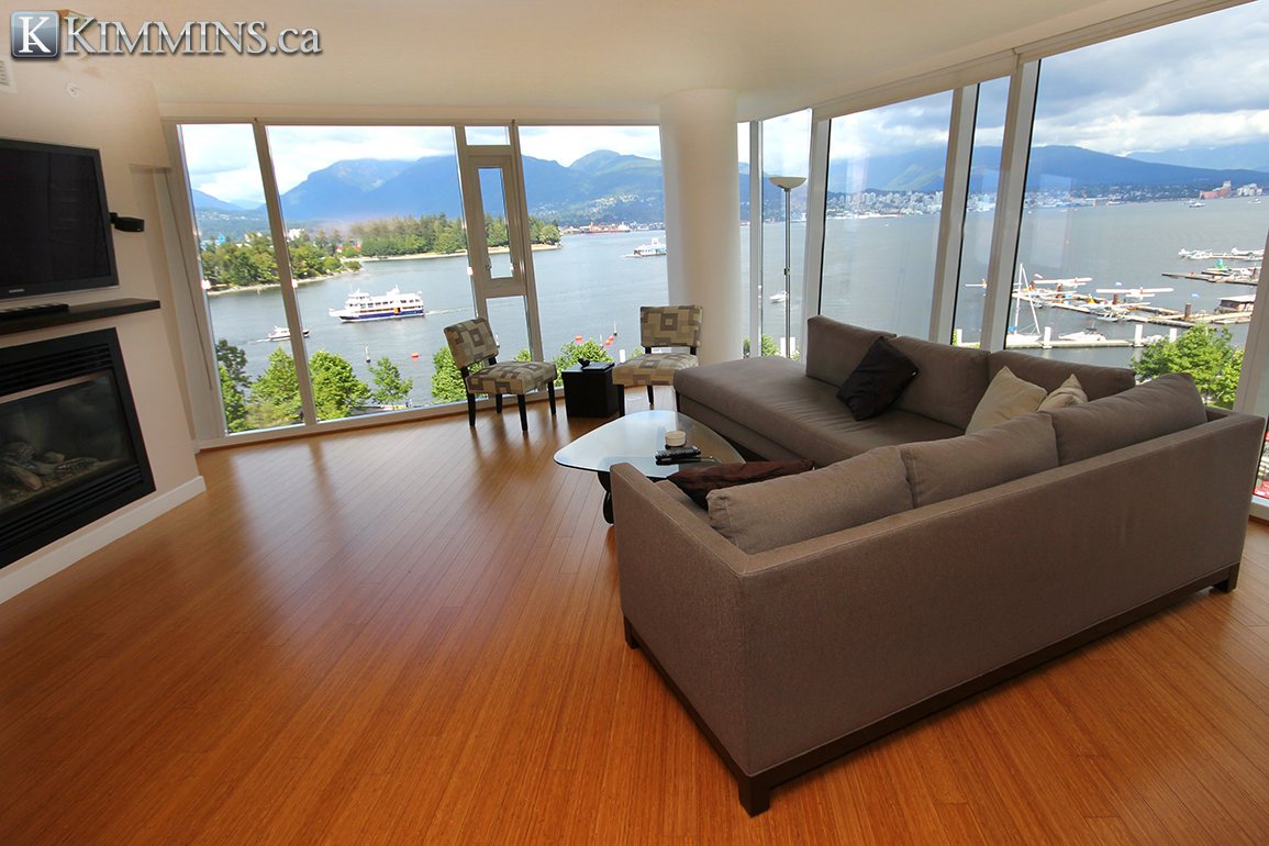 Coal Harbour condo for sale - Kimmins and Associates - Luxury Real Estate - Carina 2 bedroom 1,608 sq.ft. V968010