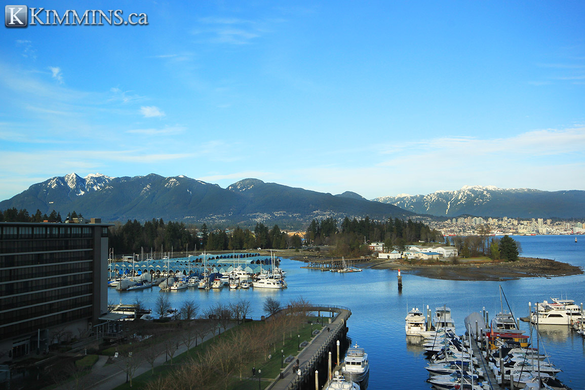 Coal Harbour Condo for sale:  3 bedroom 1,521 sq.ft. - Kimmins and Associates Luxury Real Estate