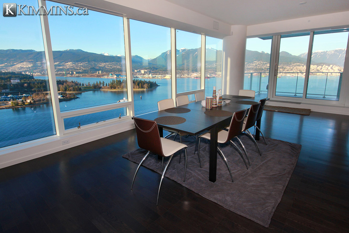 Coal Harbour Condo for sale:  2 bedroom 2,667 sq.ft. (Listed 2013-10-23)