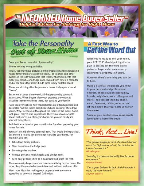 The Informed Home Buyer & Seller - May 2011.jpg