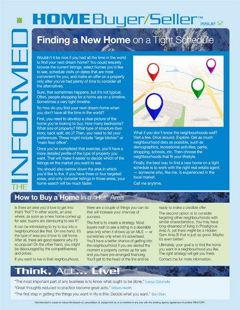 Informed Home Buyer December 2018