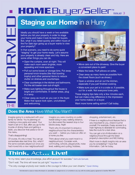 Informed Home Buyer March 2019