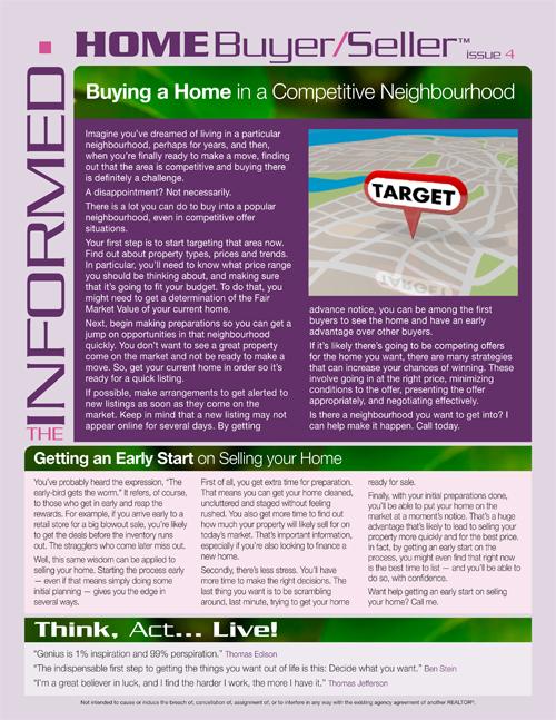 Informed Home Buyer April 2019
