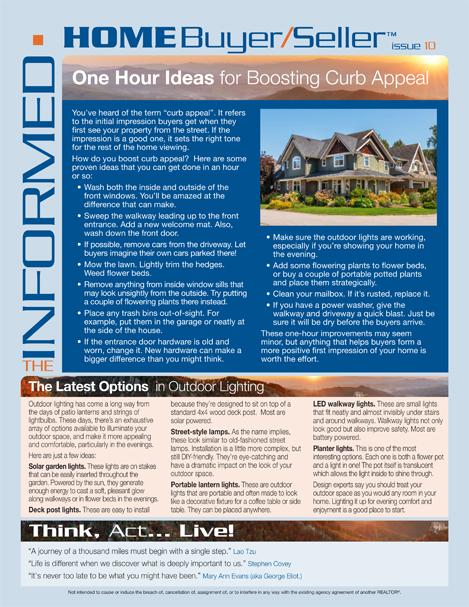 Informed Home Buyer Oct 2019
