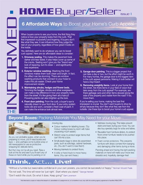 Informed Home Buyer Jan 2020