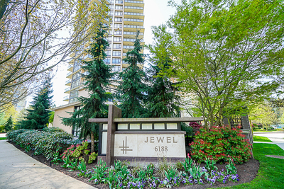 Metrotown Condo for sale:  1 bedroom 745 sq.ft. (Listed 2019-04-23)
