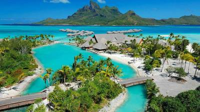 Bora Bora Apartment for sale:  Studio 4,500 sq.ft. (Listed 2014-09-22)
