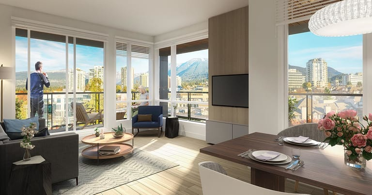 Central Lonsdale Apartment: Crest By Adera 2 bedroom