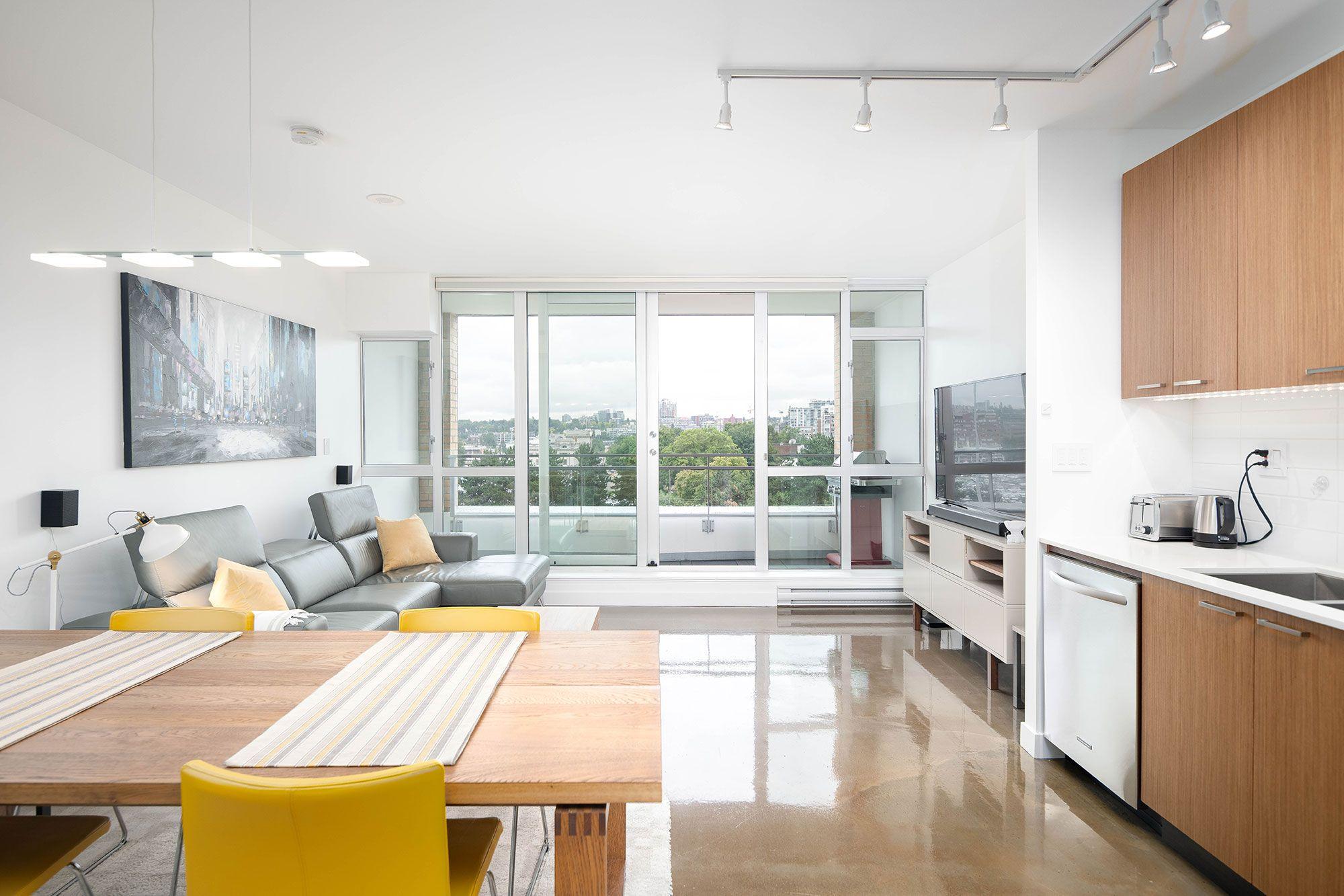 Strathcona - False Creek - Chinatown Apartment for sale: V6A 1 bedroom Stunning Designer Suite 631 sq.ft. (Listed 2019-07-15)