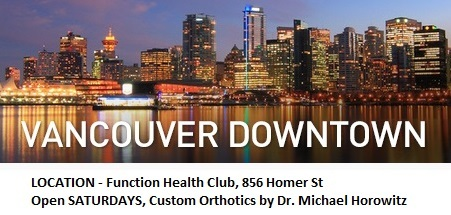 Downtown Vancouver Orthotics in Yaletown, 604-737-3668