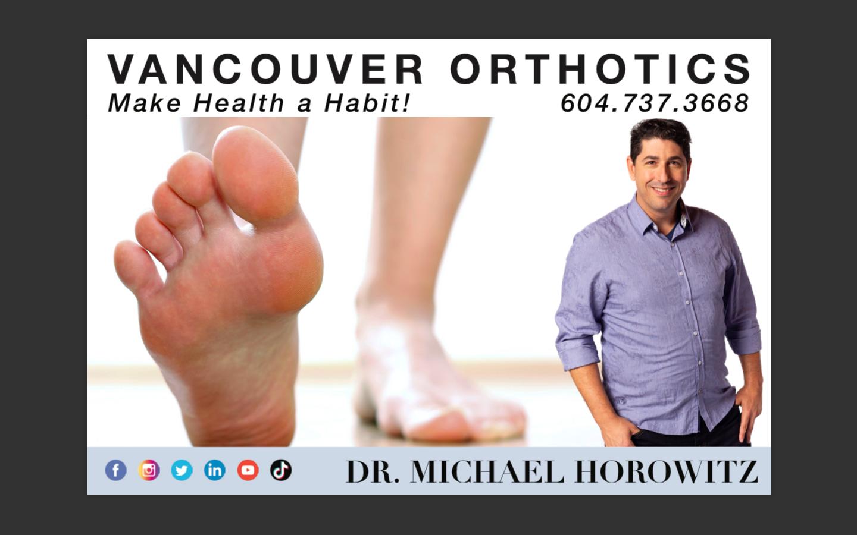 Vancouver Orthotics Postcard
