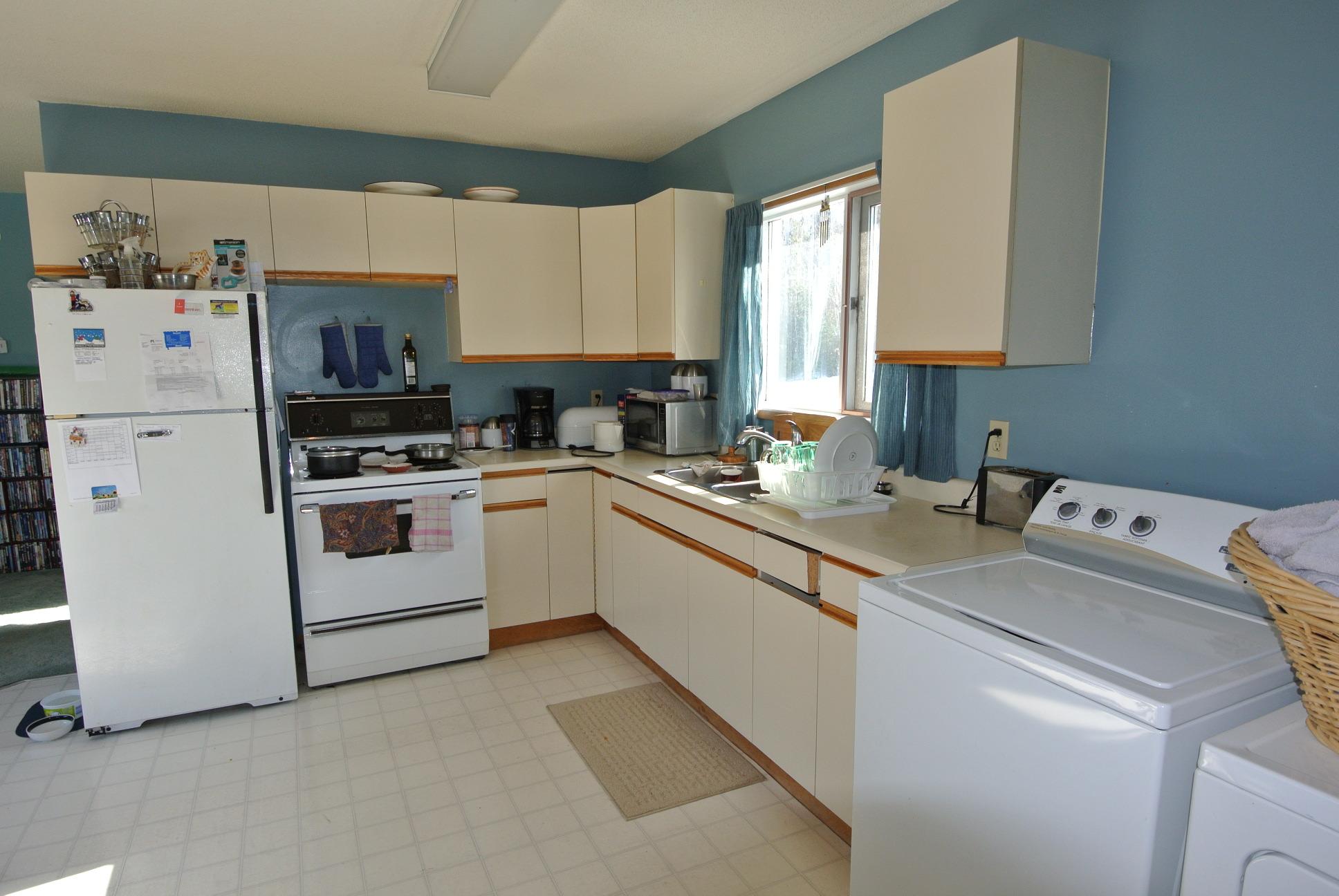 Spacious kitchen in 4946 9th Avenue New Hazelton BC