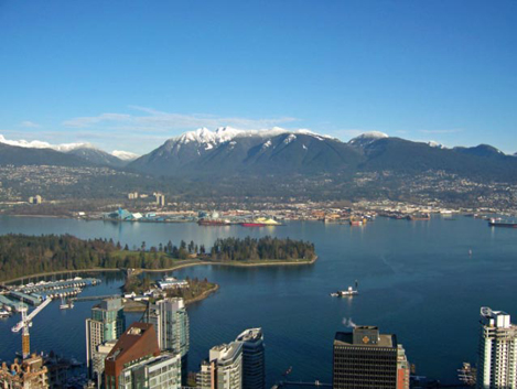 What does the $17 million dollar plus view look like at the Shangri La in Downtown Vancouver? 4
