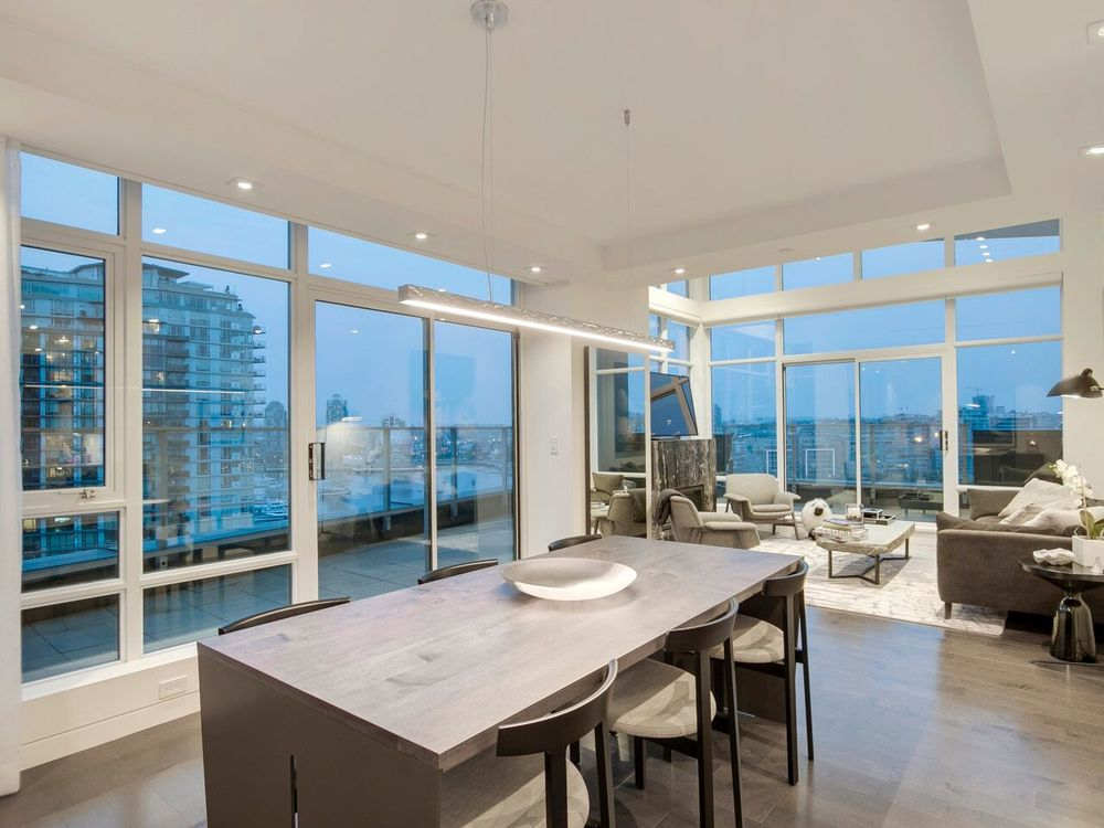 Spectacular West Coast Penthouse In Vancouvers Aerie Ii