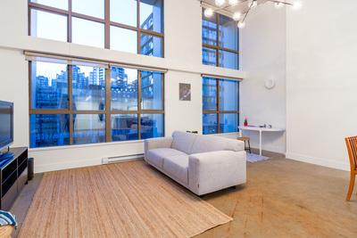 Yaletown Yaletown Loft for sale: The Space 1 bedroom 985 sq.ft. (Listed 2018-11-18)