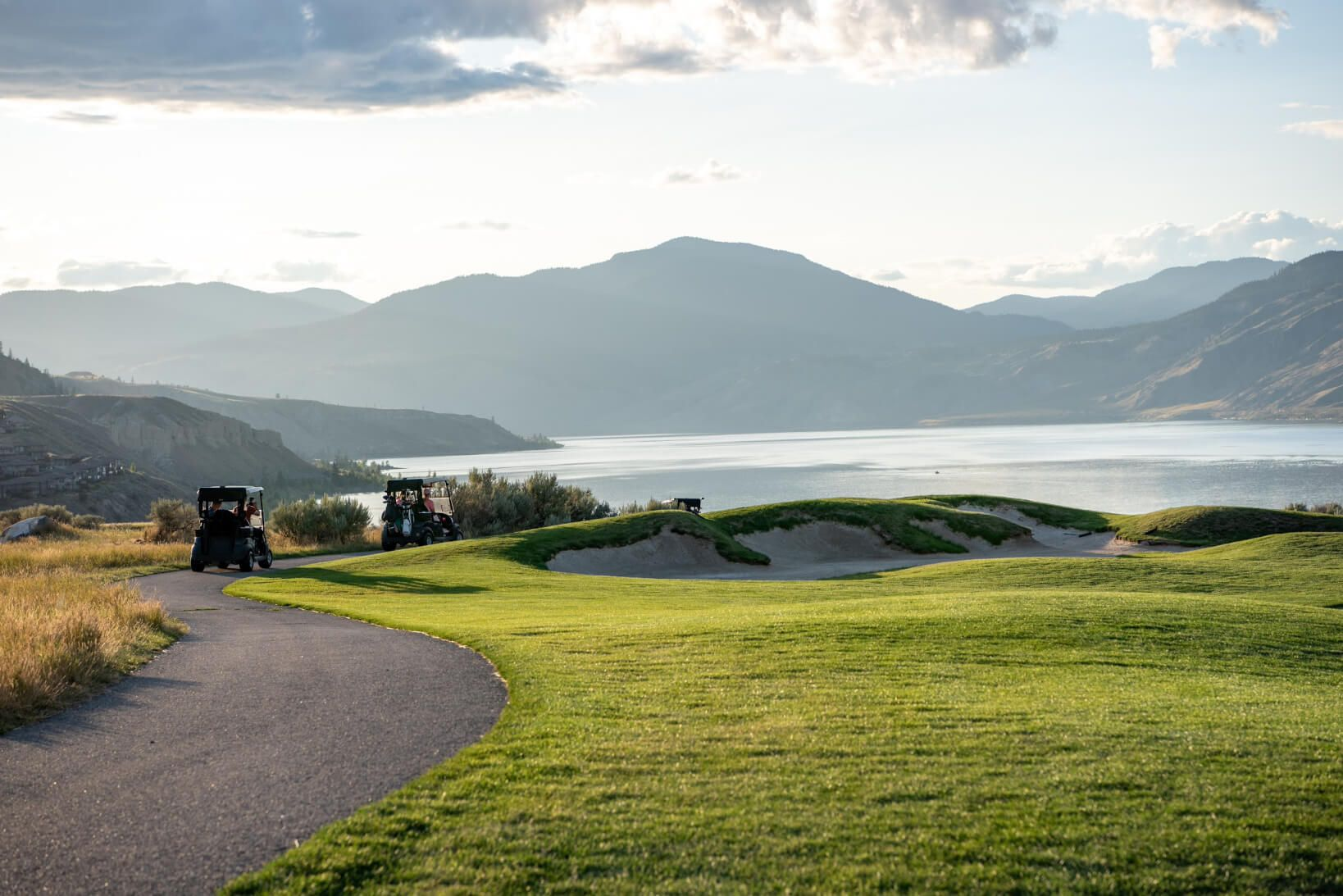 golf course at tobiano bc