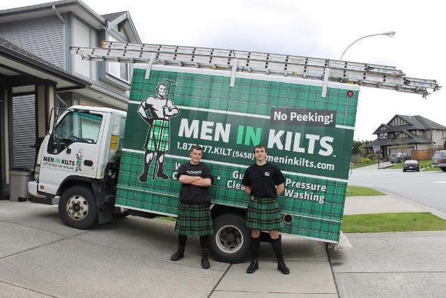 Men in Kilts Drew and Yuri