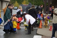 Halloween Parade in Cloverdale 2012
