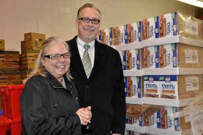 FVREB food bank donation 2013