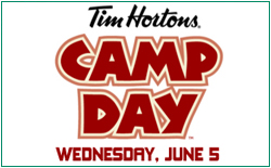 Tim Horton's Camp Day