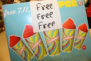 FREE Slurpee Day at 711