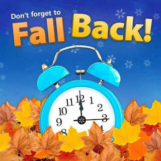 Fall Back for Daylight savings time