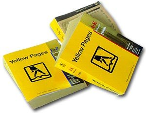 Yellow pages catalogues