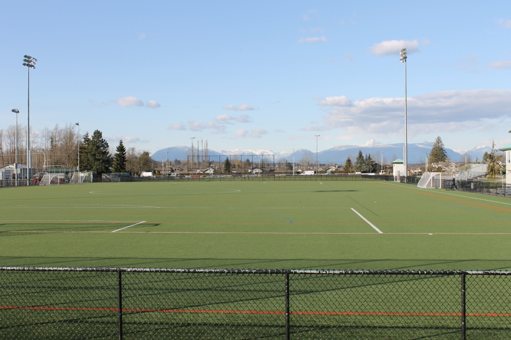 Cloverdale Athletic park soccer field