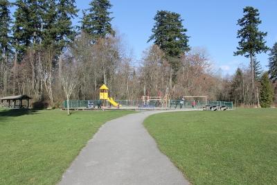 Children's playground at Clayton Park