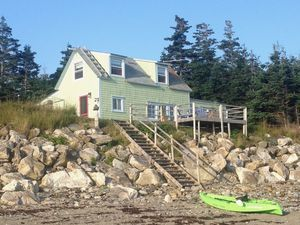 Fox Island Main Cottage/Recreational- Waterfront Property for sale:  2 bedroom 1,592 sq.ft.