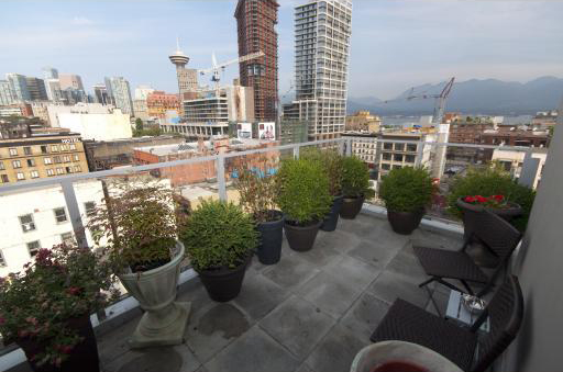 33 W Pender St (33) Private Roof Top Patio by Jay McInnes