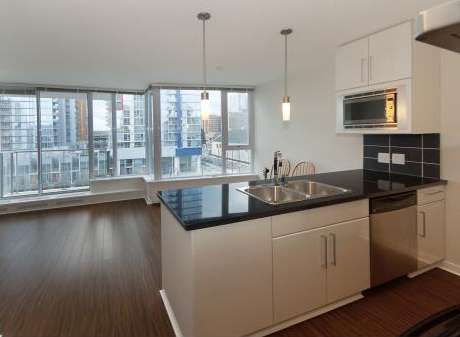 188 Keefer Place (Espana 2) - Kitchen / Living Room by Jay McInnes