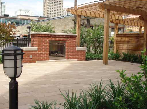 531 Beatty Street (Meto Living) - Patio 2 by Jay McInnes