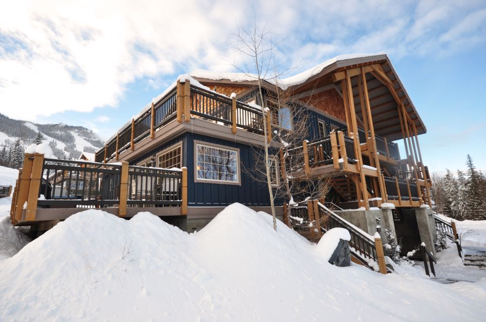 Kicking Horse Mountain Resort  Townhouse Condo for sale: The Aspens 2 bedroom 770 sq.ft. (Listed 2015-01-10)