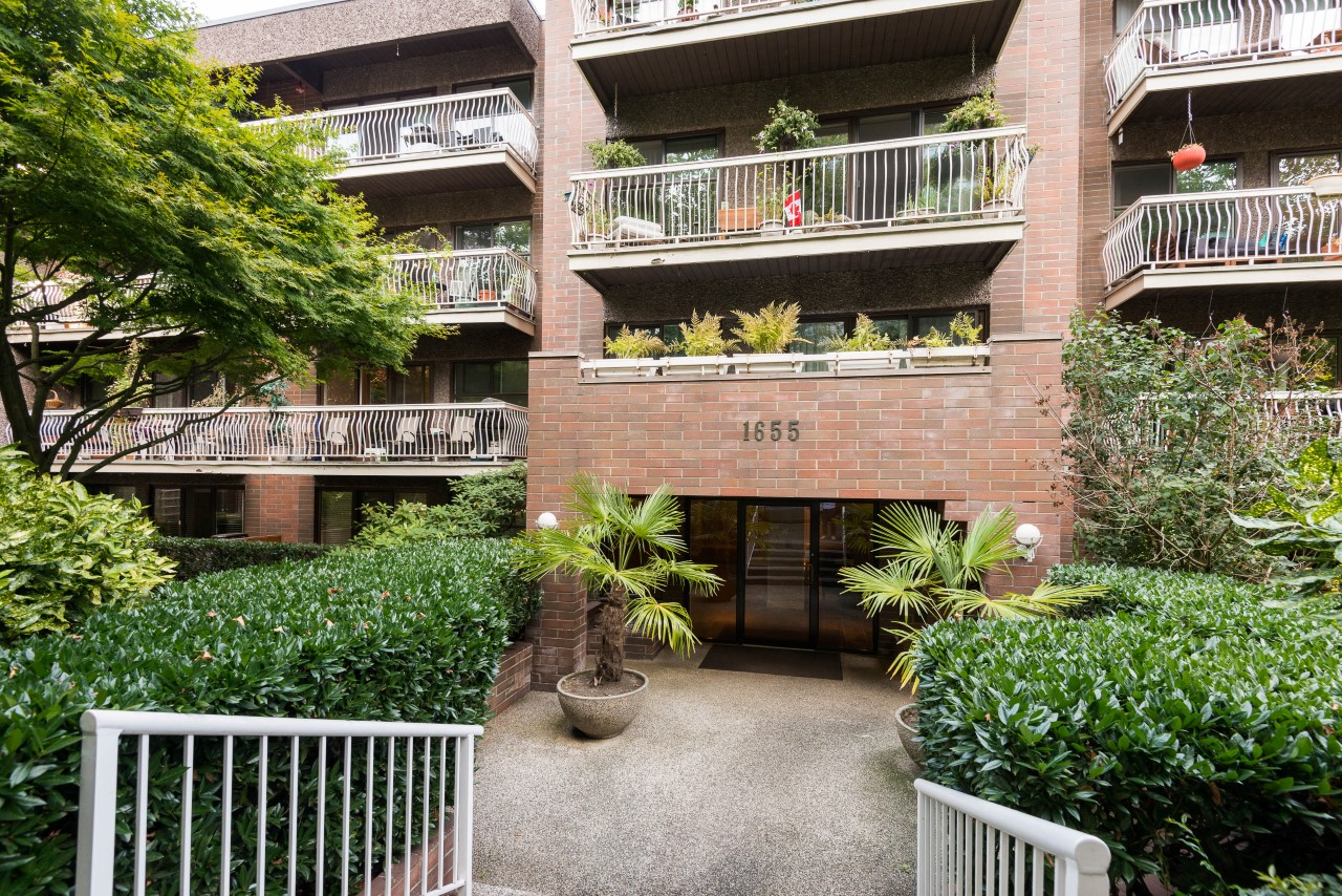West End Condo: 406 1655 Nelson Street