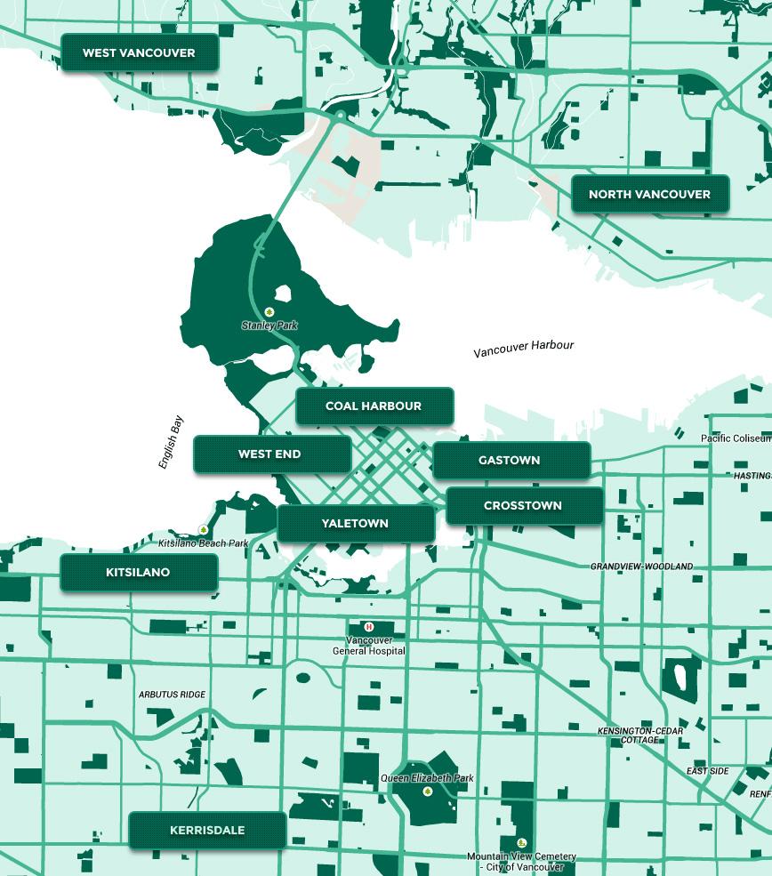 David Green Vancouver map