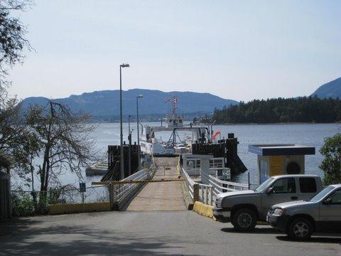 Thetis Island Ferry Terminal