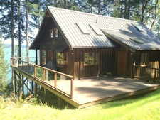 Thetis Island Waterfront 3bdr Home on 2.26 Acres for sale:  3 bedroom  Hardwood Floors  (Listed 2015-04-10)