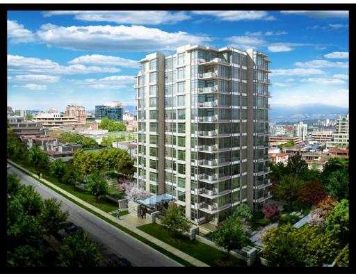 South Granville (Fairview) Condo for sale: SAKURA 2 bedroom 850 sq.ft. (Listed 2009-07-06)
