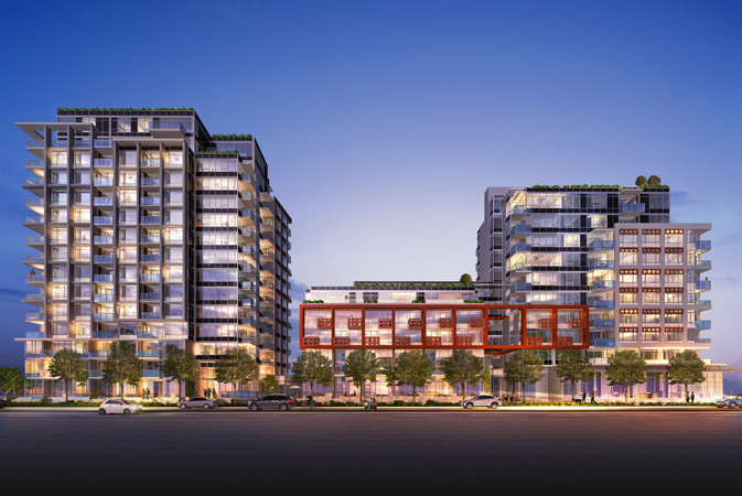 Olympic Village Apartment for sale: Block 100 1 + Den 740 sq.ft. (Listed 2015-11-03)
