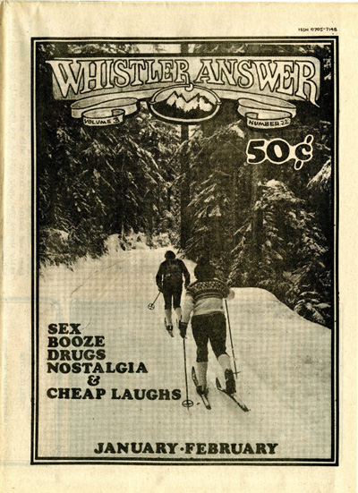 Whistler Answer Vol 1 No 22