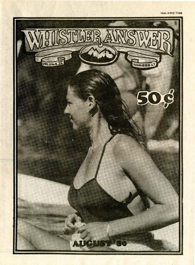 Whistler Answer Vol 4 No 27