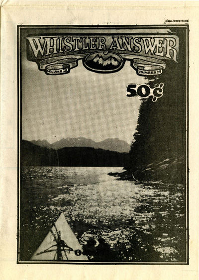 Whistler Answer Vol 4 No 29